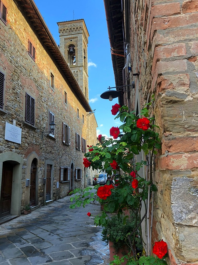 Beautiful Tuscan Village