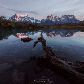 A quiet morning in the Torres del Paine NP. For my tours, visit www.leonardopapera.com