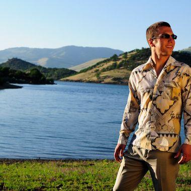 Jeff at Emigrant Lake
