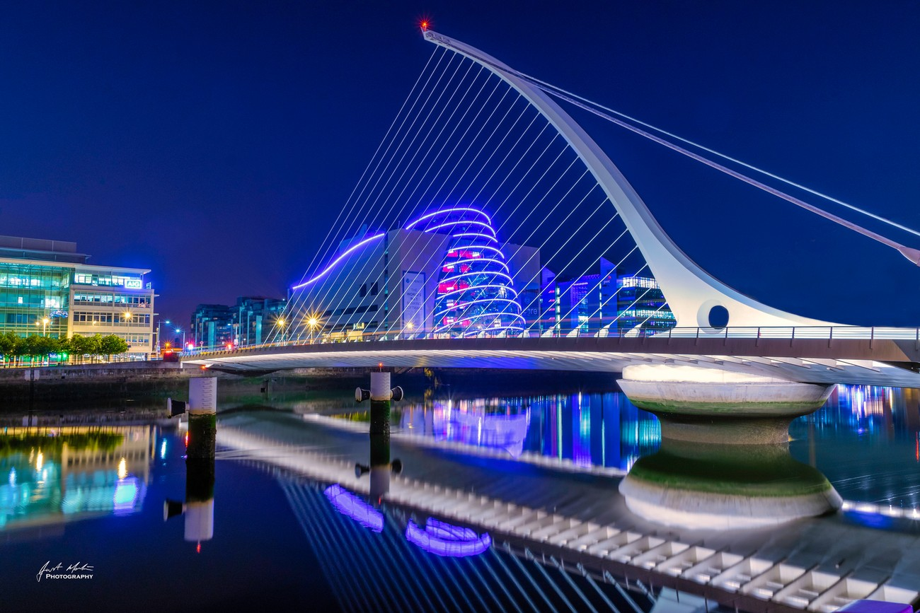 Samuel Beckett Bridge and Convention Centre