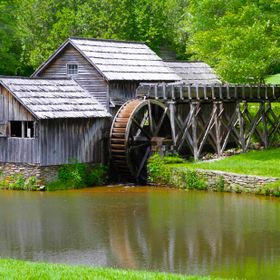 The Mabry Mill west Virginia