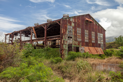 Maui 201720170411 Old Railway Warehouse in Maui
