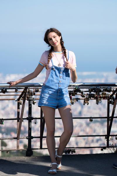 Jessica P :: On Top of Barcelona I