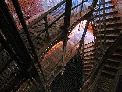 "Fort ""Emperor Alexander I"" (""Plague""). Internal metal ladder. Photo 2. St. Petersburg, Kronstadt."