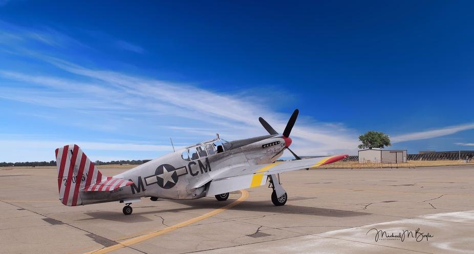 Rare P-51 C with Dual controls