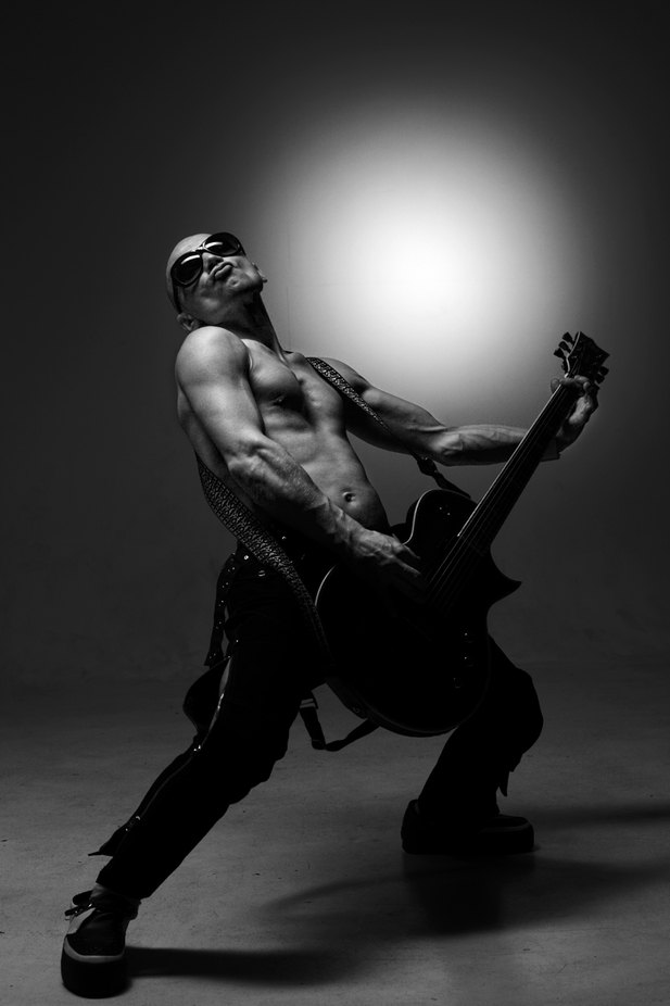 Rock star portrait by leonidsadofev - Music And Concerts Photo Contest
