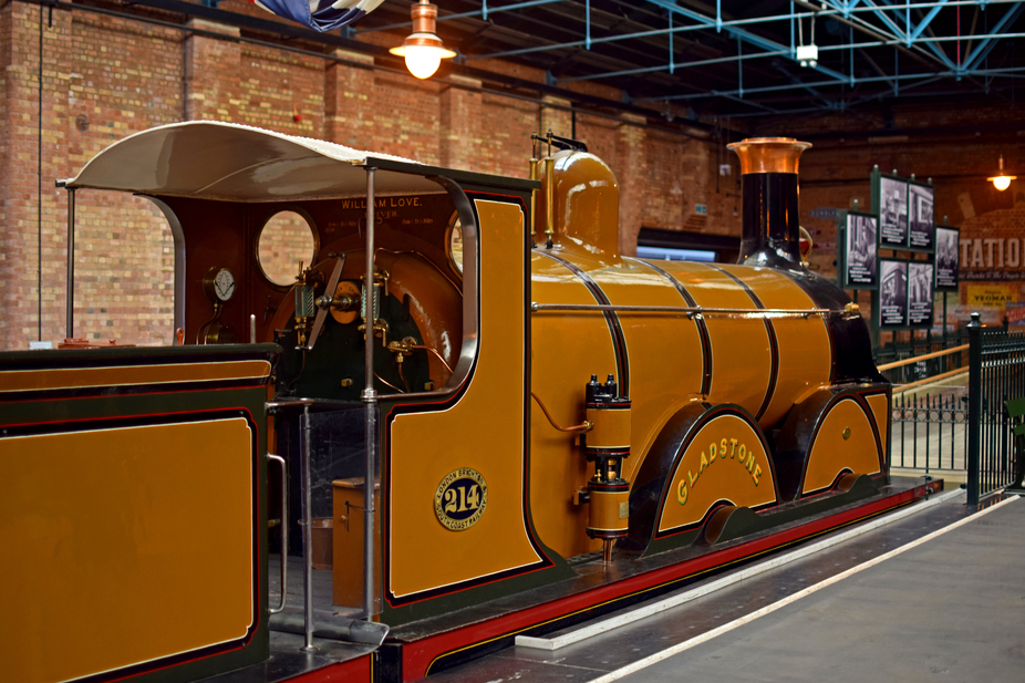 """Gladstone"" Queen Victoria's Royal train at National rail museum York"