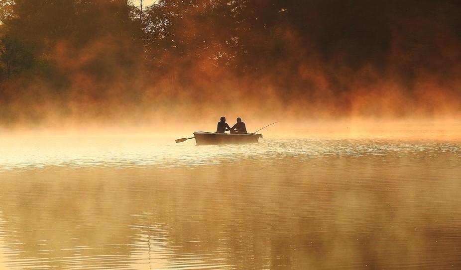 Morgenstimmung bei den Fischern.