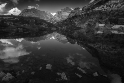 Reflections in Black and White...