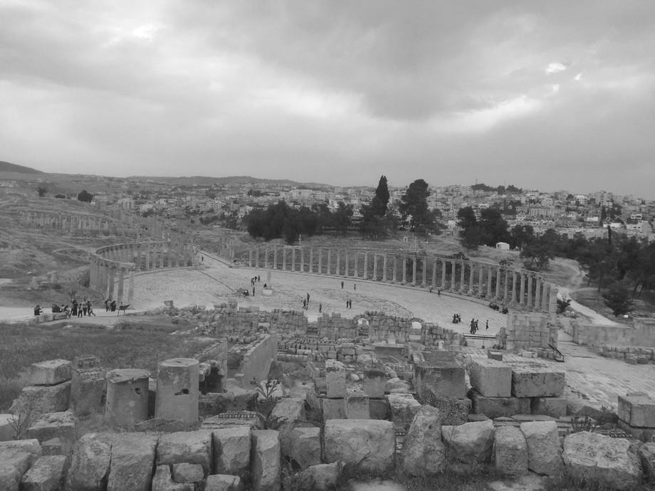 Jerash -Jordan A city full of Roman Ruins