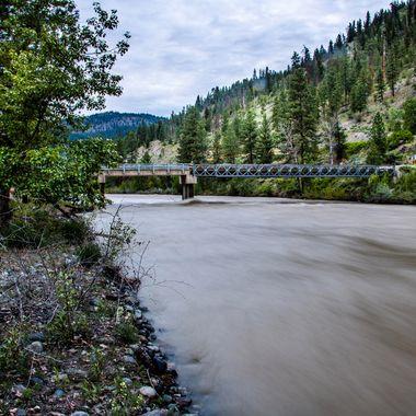 Nicola River south of Merritt B C