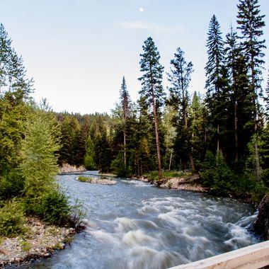 Maka Creek is south of Merritt B C and runs into Spius Creek.