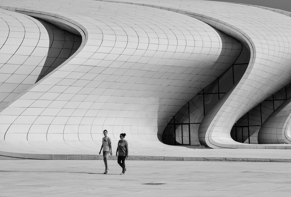 Beautifulness of modern architect