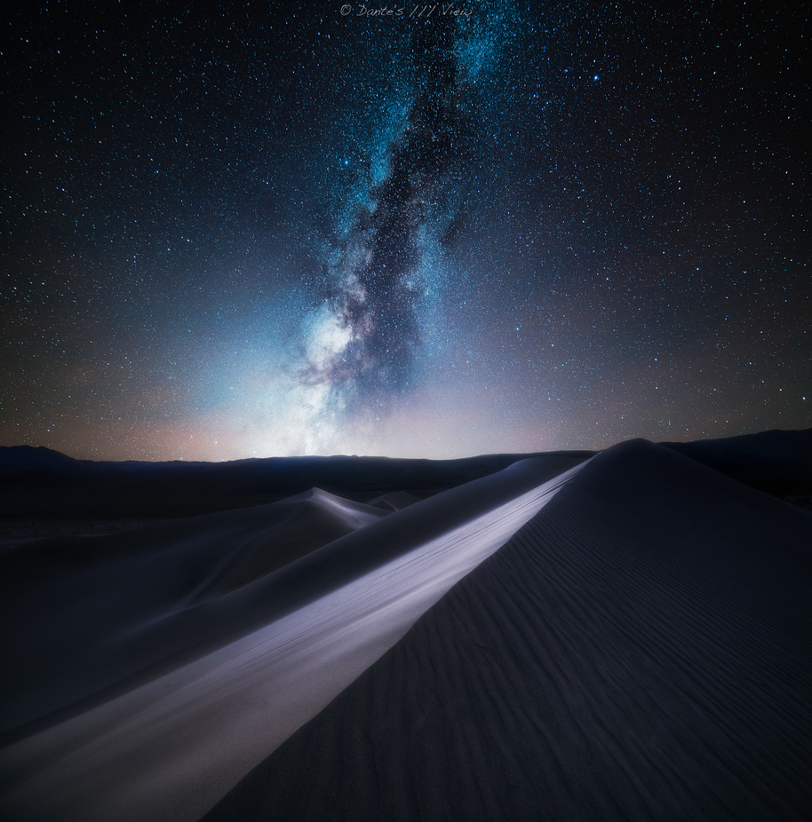 Panamint Dunes by Dantes_View - Capture The Milky Way Photo Contest