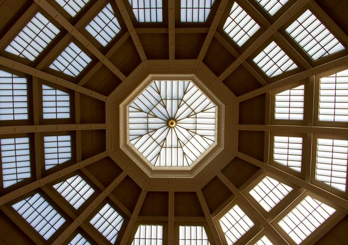 La Trobe Reading Room Ceiling by jeanhaynes - Ceilings Photo Contest