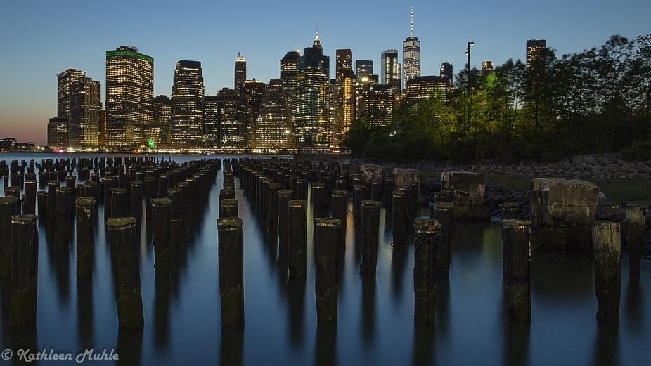 NY Skyline from Brooklyn