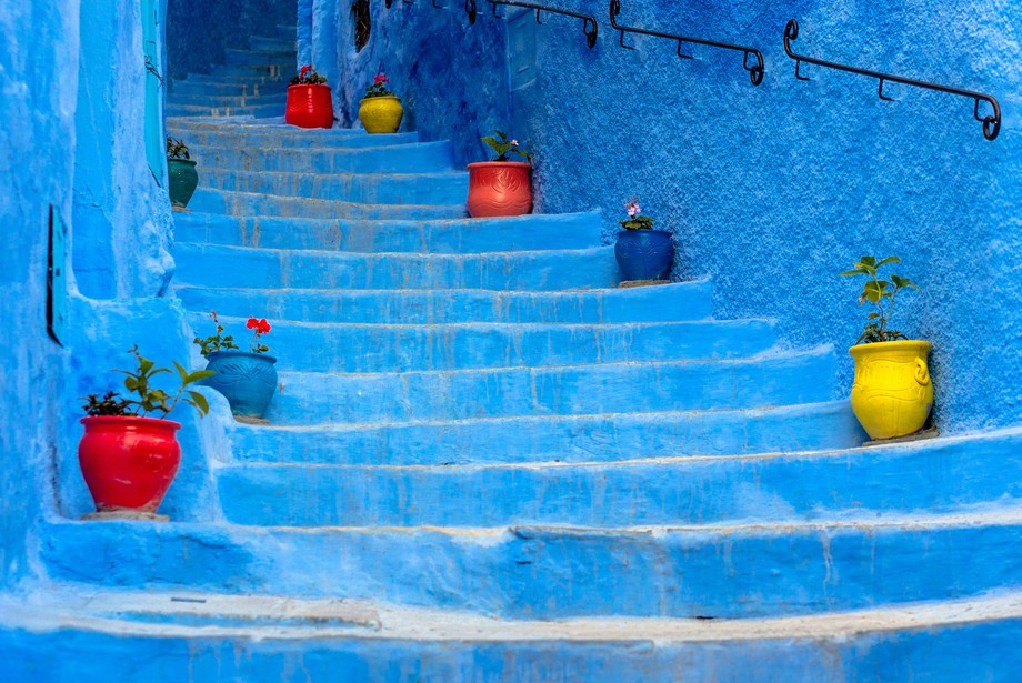 Typical objects in the Chaouen rues.