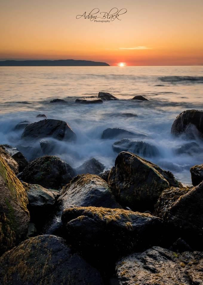 Castlerock seascape