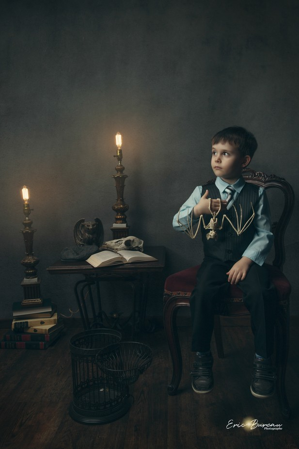 Alchemy apprentice  by etrdryzt - Fantasy In Color Photo Contest