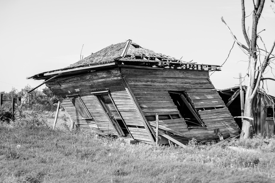 This old house is located in an almost forgotten town in southwest Oklahoma town. I've b...
