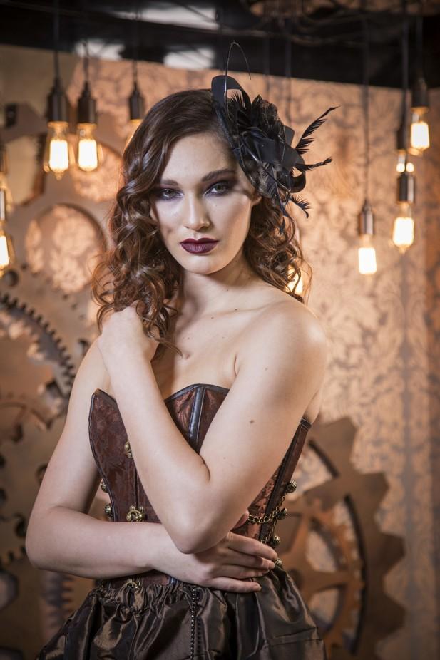 Steam punk fashion model, Las Vegas by paulbloch - Fantasy In Color Photo Contest