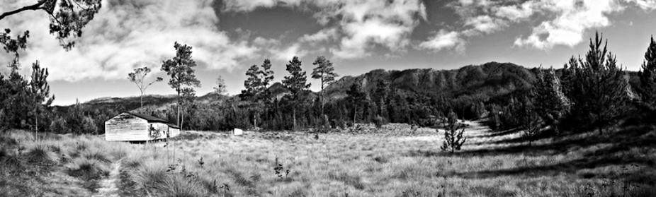 Panorama trayecto Pico Duarte