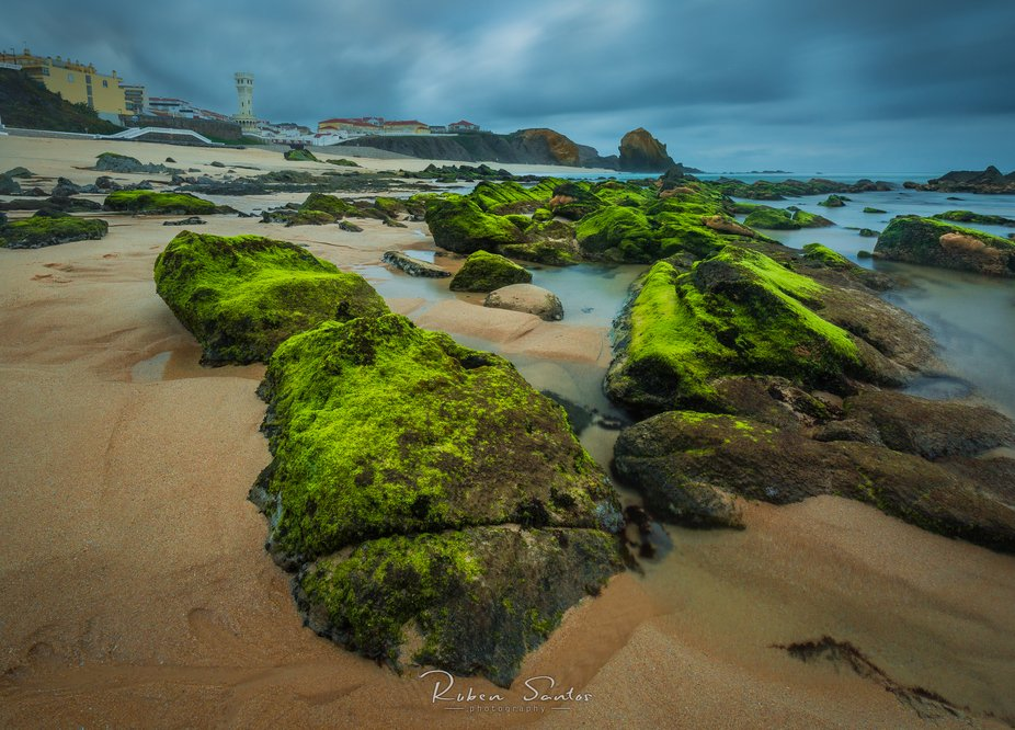 Another visit to my favourite beach, this time with a different point of view. The weather was ba...
