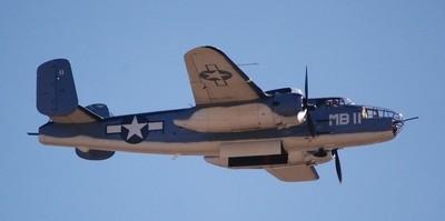 Open Bomb Bay Doors B-25