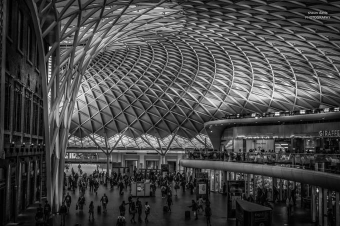King's Cross by shaundavis65 - Our World In Black And White Photo Contest
