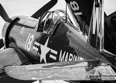 F4U Corsair, Close Up
