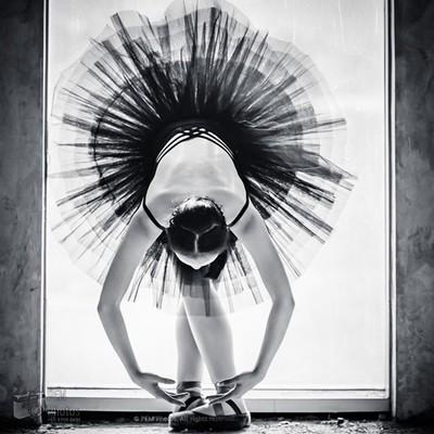 The young ballerina