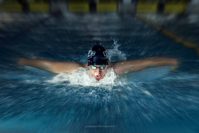 Swimmer by Lamirana - Fast Photo Contest