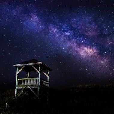 Milky Way over North Topsail Beach