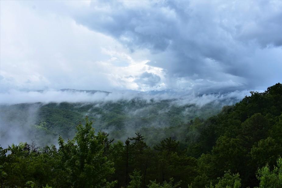 thr great smokey mountains..