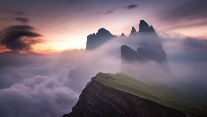 mystic Seceda by Rolf_H - The Moving Clouds Photo Contest