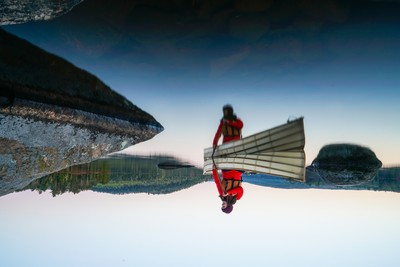 Paddling Will Turn Your World Upside Down