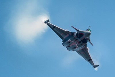 Superb display by Capitaine Sebastien Nativel from The Dassault Rafale Solo Display Team ( French Air Force ????????)