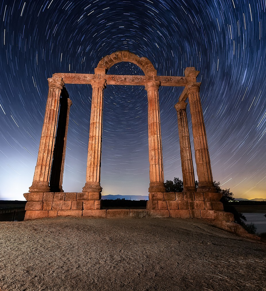 Roman ruins by Gondyc - Stunning POV Photo Contest