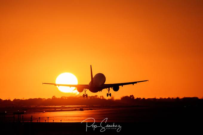 Bcn Airport 3 by pepinair - Sunset And The City Photo Contest