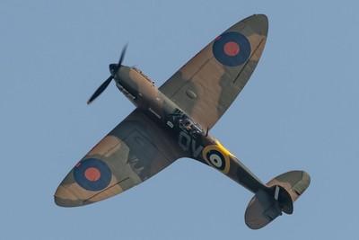 Duxford air festival 26-5-18 The stunning Spitfire Mk.Ia N3200