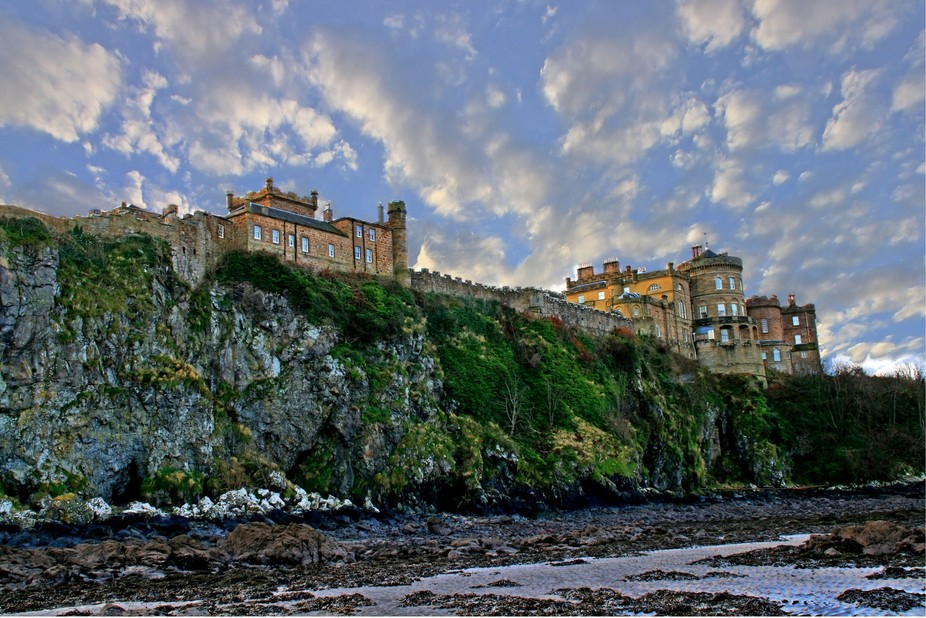culzean castle by the see