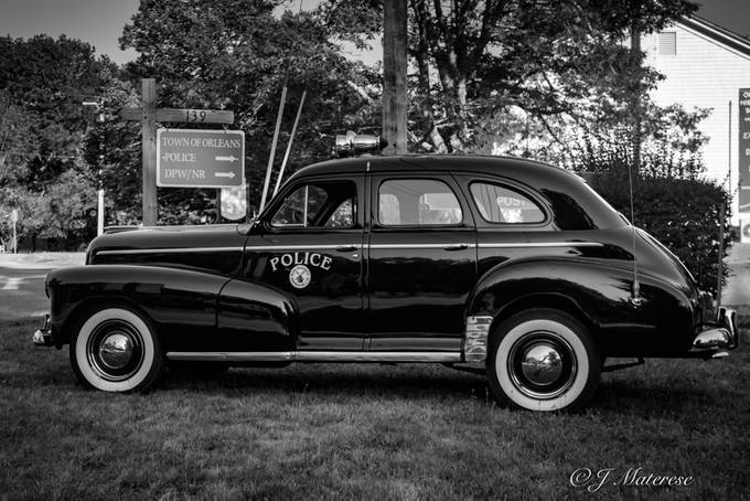 Old Police Car Orleans MA