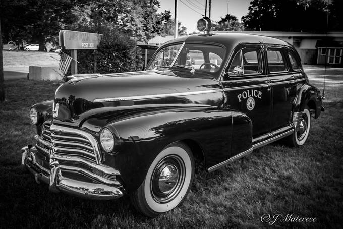 Old Police Car Orleans MA 2