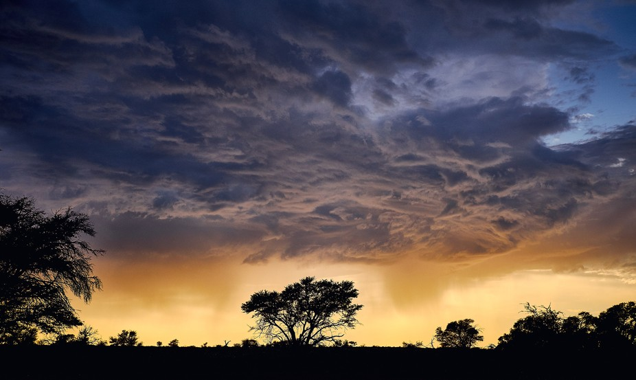 Stormy Sky in the Kalahari