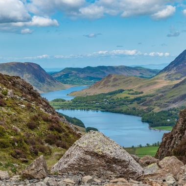 Buttermere and Crannock Water, Lake District