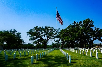 Magnolia  Cemetary veterans