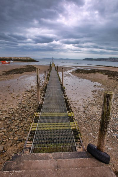 Jetty at Rhos-on-sea Wales