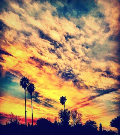 often awesome SoCal sunsets baby!