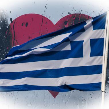 Flag & Heart.