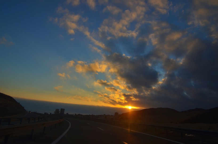 Foto  tomada entrando a Antofagasta